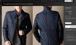 2014 Diamond Quilted Field Jacket Only 3 in stock Very