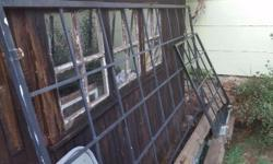 I have 2 Burglar Bars for sale. One is for a small 1m