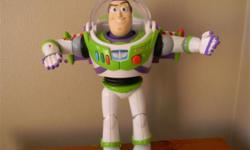 Beskrywing Buzz Lightyear with sounds. Very good