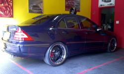 "19"" Echo Emij rims and Tyres for C55. Wides and"