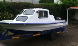 Hi selling my cabin boat... It has a 30hp that has been