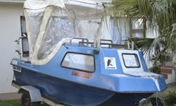 I,m selling my cathedral cabin boat with a 25 h motor,