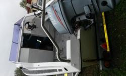 5m Calibre Cabin boat for sale, 55HP Yamaha motor, all