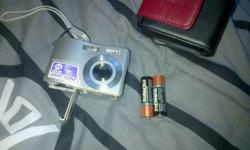 10 megapixel BenQ camera with flash R650 takes normal