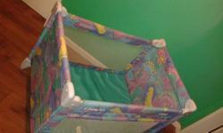 Graco pack and play camp cot R400 + free matterss good