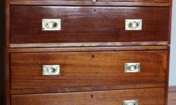 Campaign Chest Good condition. Colonial British