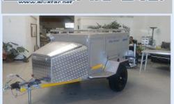 Alu STAR CAMPER 7ft off road trailers STOCK: one