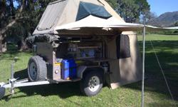 We rent out fully equipped camping trailers with