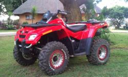 Beskrywing Fabrikaat: Can Am Model: Outlander