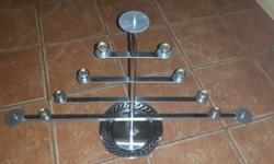 Stanless steel candle holders in all sizes starting