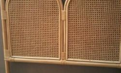 Cane headboard for single bed. Good condition.