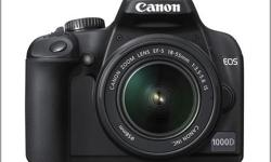 Beskrywing Selling my Canon EOS 1000D-10 megapixel