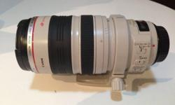 Canon 28-300mm f/3.5-5.6L IS USM lens for sale. Mint in