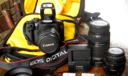 Canon 550D SLR Camera bundle. Its time to move on and