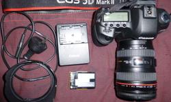 You are looking at a Canon 5D MkII Digital Camera with