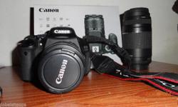 canon 600d SLR CAMERA IN EXCELLENT CONDITION WITH