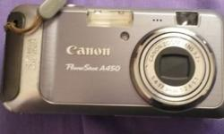 Canon Camera for sale. Not using it anymore. Comes with