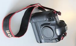 Canon Eos-1Ds Mark III up for grabs! Body only. 10.1