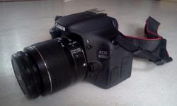 Almost new Canon 600D DLSR camera for sale. With 2