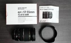 Beskrywing Lens is in excellent condition. In box with