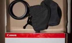 "Canon's professional (""L"") range, very good condition,"