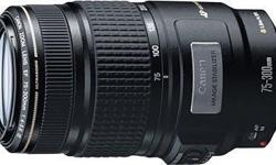 Canon 75-300mm IS (image stabilizer) lens in great