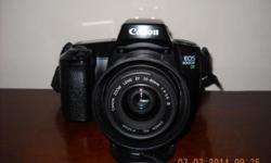 Almost unused Canon EOS 1000F 35mm SLR FILM Camera (NOT