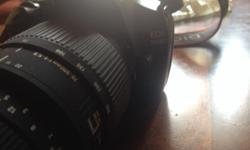 Canon EOS 1100D DSLR in a mint condition. includes: