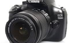 Canon EOS 1100d professional digital slr camera. hardly