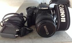 Like new hardly been used CANON eos digital camera and