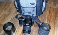 Canon EOS 400D digital camera with Canon EFS 18-55mm