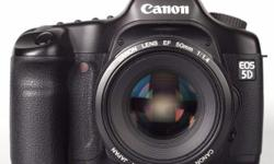 This Canon EOS 5D Mark 1 is a great full format DSLR