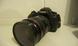 5D EOS MARK II A 35mm full-frame Canon-developed CMOS