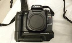 Canon Film - Eos Elan 7E with Battery Pack - R1200.