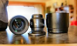 I have two Canon Lenses for sale. Canon EF 70-200mm F4
