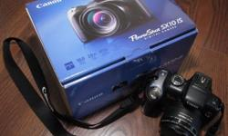 Canon PowerShot SX 10 IS  Digital  Camera - Like new -