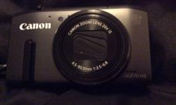 It has a 20x optical zoom. Practically new. Taken about
