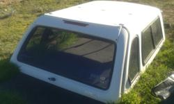 Kango Canopy White to fit Ford Ranger Supercab 2004.