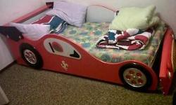 Childs car bed - no mattress - hardly used