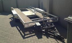 CAR TRAILER IN EXCELLENT WORKING CONDITION..ONLY