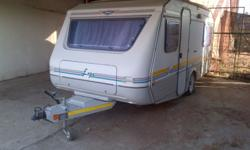 Caravan, Jurgens Expo model, 1996. In excellent