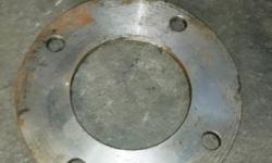 "2 Off - Carbon Steel 4"" Table/D S/O Flanges for sale! @"