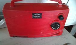 One of my favourite pieces is the Eveready Red Radio