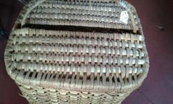 Grass Basket with lid. I only have one in the shop
