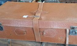 Leather Suitcase that is the perfect decor piece