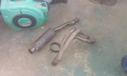 4 to 1 headers for sale with exhaust Call me on 072 851