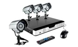GET A FULLY INSTALLED CCTV CAMERA SYSTEM WITH 4 CAMERAS
