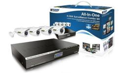 KGUARD COMBO 4 Channel DVR 4 IR CAMERAS (DVR Features)