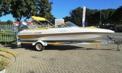 One of the best water skiing boats ever made.  The boat