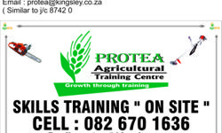 Protea Agricultural Training Centre offer a wide range